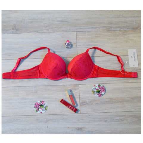 Купить Бюстгальтер Anna Field Red Красный распродажа сток Киев Украина