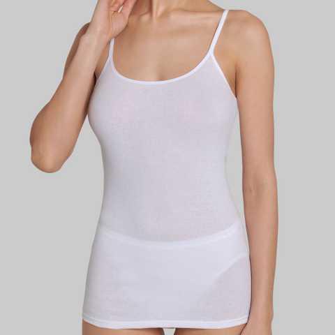 Купить Майка Triumph Katia Basics Cotton Shirt 01 Белый распродажа сток Киев Украина