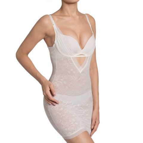 Купить Платье корректирующее Triumph Sculpting Sensation Bodydress ванильный распродажа сток Киев Украина