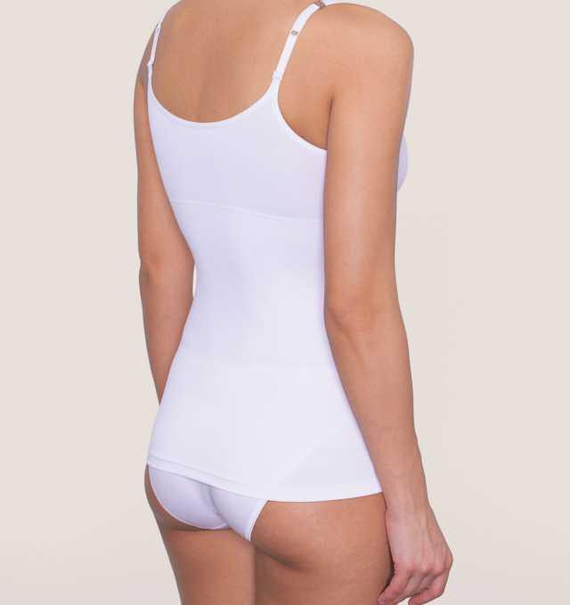 Купить Майка корректирующая Triumph Trendy Sensation Shirt 01 Белый распродажа сток Киев Украина