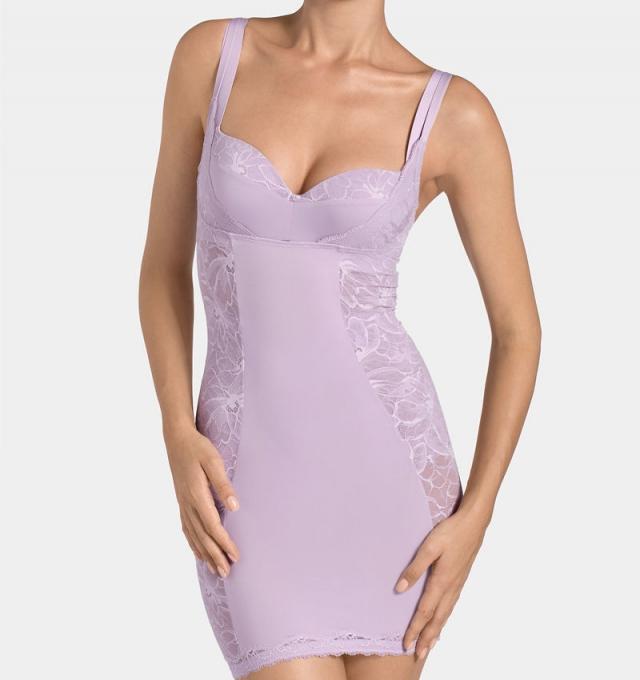 Купить Платье корректирующее Triumph Magic Boost Bodydress 01 сиреневый распродажа сток Киев Украина