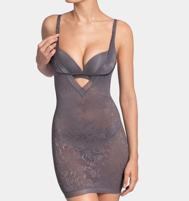 Купить Платье корректирующее Triumph Sculpting Sensation Bodydress серый распродажа сток Киев Украина