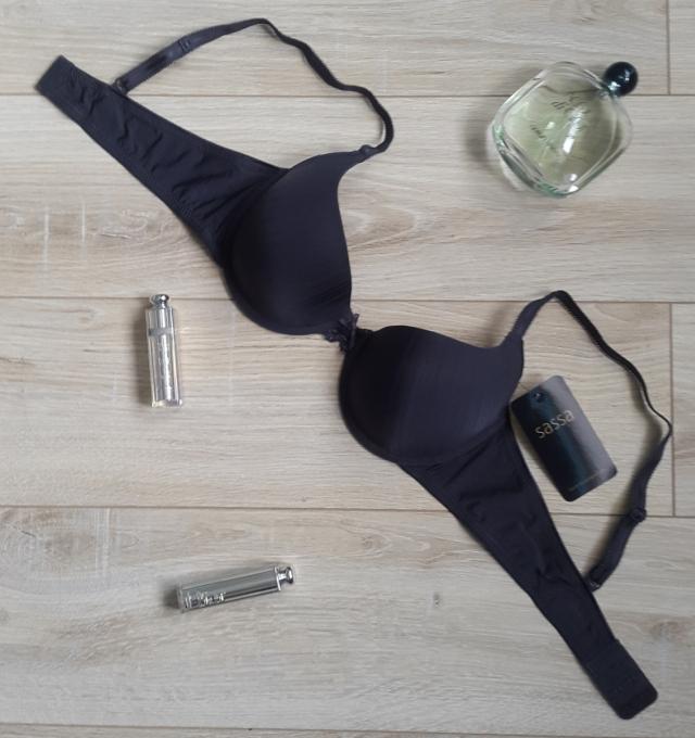 Купить Бюстгальтер Sassa Темно-серый распродажа сток Киев Украина