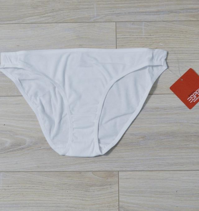 Купить Трусики Esprit Cotton Rib Hipster Белый распродажа сток Киев Украина