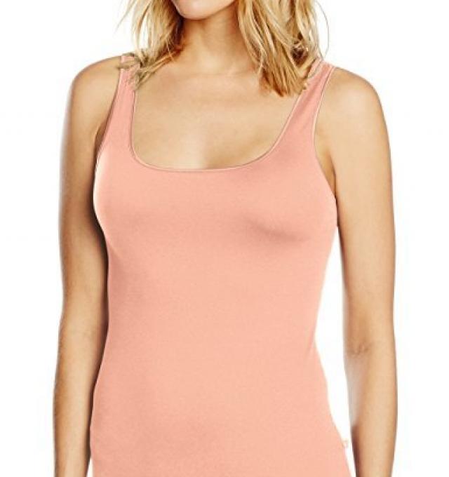Купить Майка корректирующая Triumph Be Pure Shirt 02 розовый распродажа сток Киев Украина