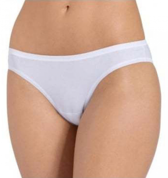 Купить Трусики Triumph Sloggi EverNew Brazil Panty Белый распродажа сток Киев Украина