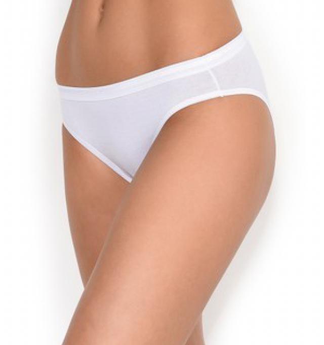 Купить Трусики Triumph Sloggi Invisible Supreme Cotton Mini Белый распродажа сток Киев Украина
